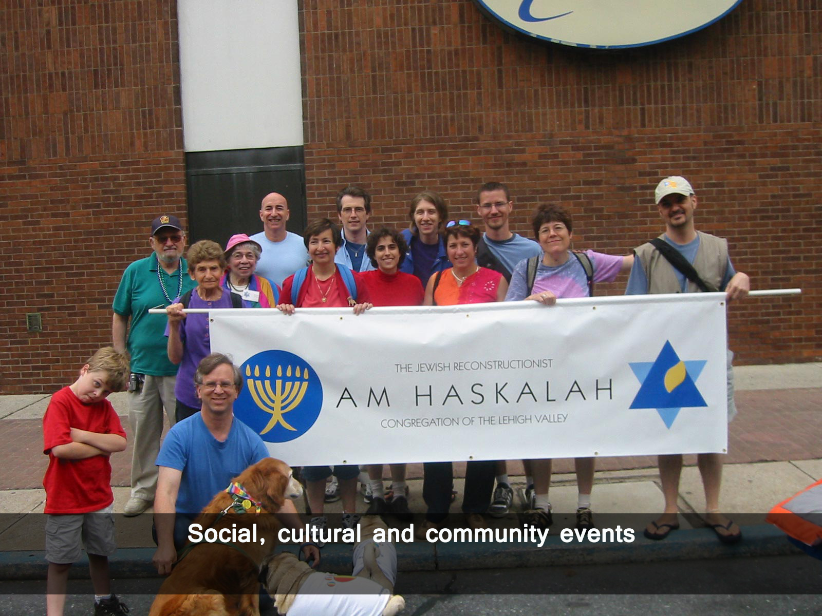 Social, cultural and community events