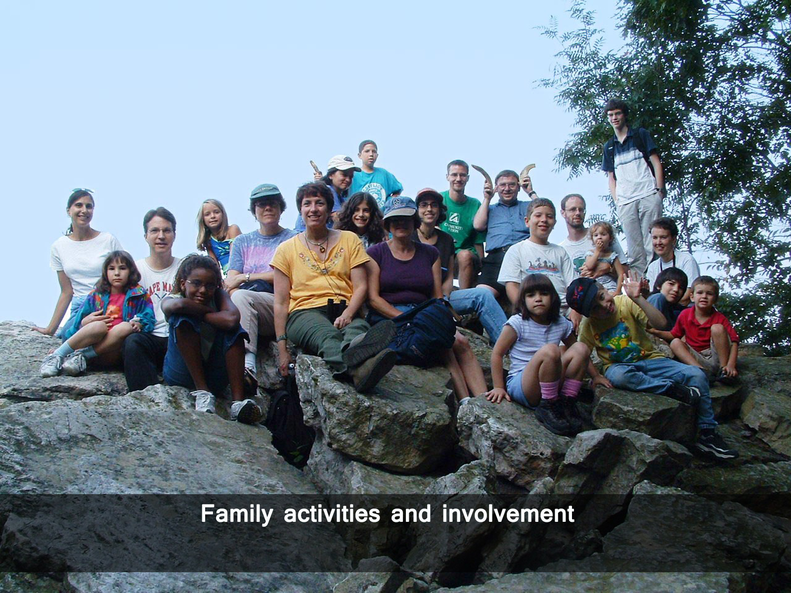 Family activities and involvement