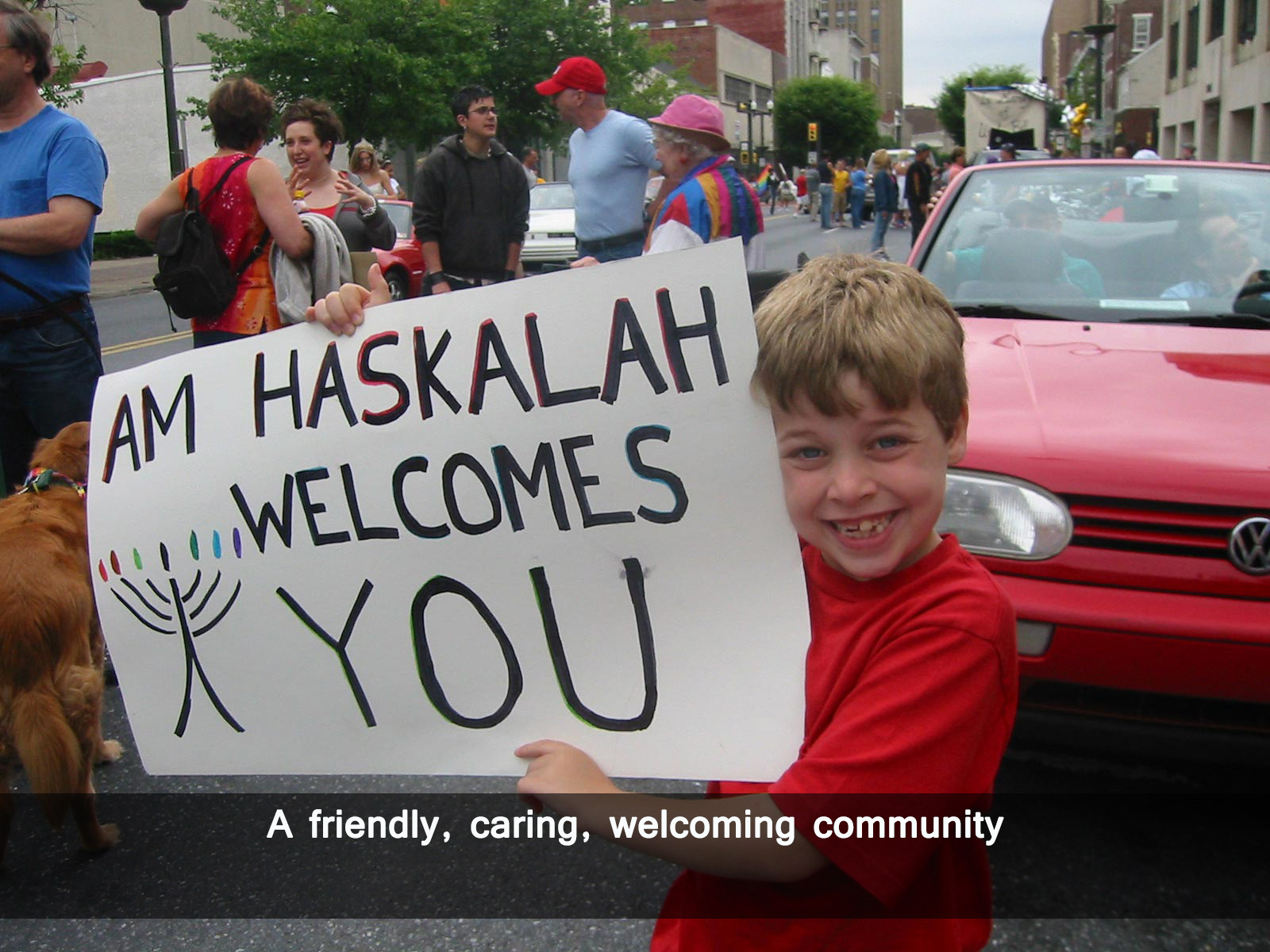 A friendly, caring, welcoming community